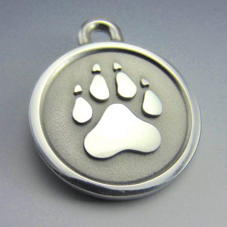 Maine chew proof pet id tag
