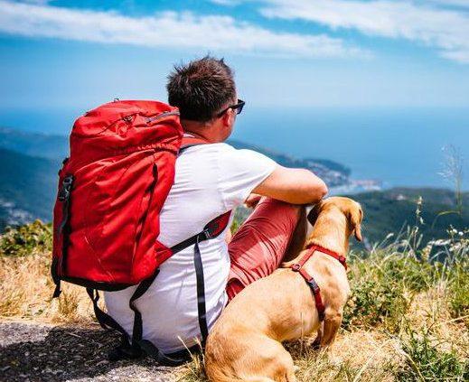hiking dog tag